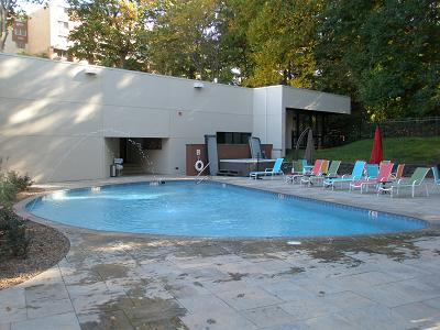 Finished Pool at Valley Forge Hilton